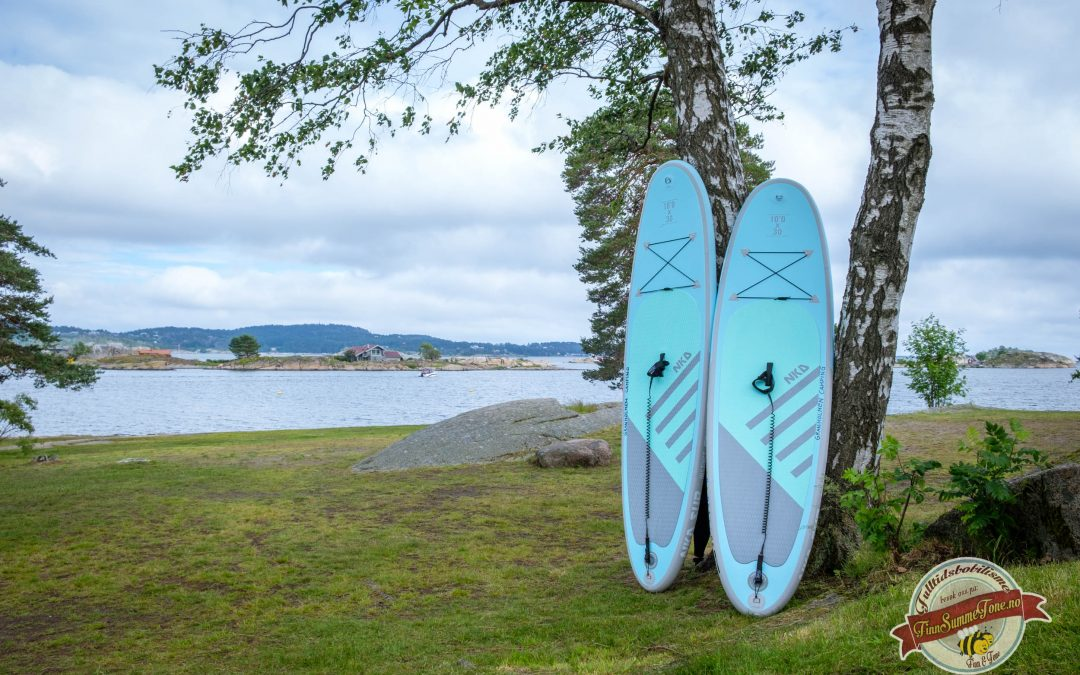 SUP rental at Granholmen Camping